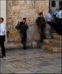 Иерусалим. Солдаты