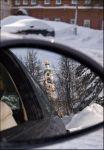 Саровская колокольня из автомобиля