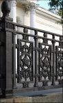 Ограда на Гоголевском бульваре в Москве. Орден Победы