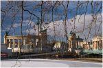 Будапешт. Площадь героев с тыла