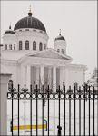 Нижний Новгород. Спасский староярмарочный собор. Монферран, 1832. И лавка.