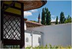 Крым. Бахчисарай. Вид на ханский двор из гарема