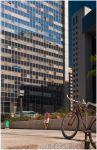 Тель-Авив. Лиловый велосипед и лиловая маечка