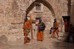 Иерусалим. У храма Гроба господня. Негры, они тоже христиане...