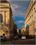 Москва. Угол Поварской и Малого Ржевского переулка