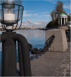 Москва-река и фонарь