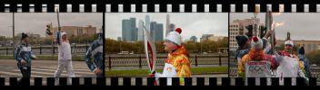Москва. Эстафета олимпийского огня