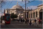 Стамбул. Трамвай на улице Дивана