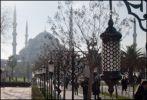Стамбул. Дымка. Мечеть султана Ахмета