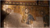 """Стамбул. Мечеть """"Айя София"""". Византийская фреска, около X века."""