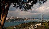 Стамбул. Мост через пролив Босфор