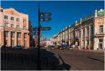 Иркутск. Перекресток в историческом центре
