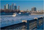 Москва. Зимняя навигация по Москве в разгаре