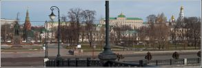 Москва. Вид на Болотную площадь