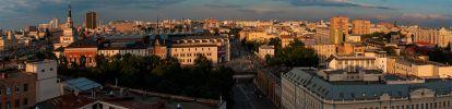 Москва. Площадь трех вокзалов. Новорязанская улица. Казанский вокзал