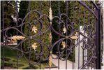 Кисловодск. Кованый забор санатория