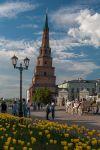 Казань. Кремль. Падающая башня Сююмбике