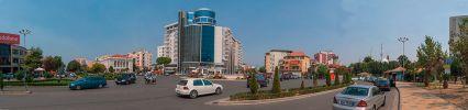 Главная площадь албанского Шкодера