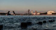 Санкт-Петербург. Ракетный катер на Неве