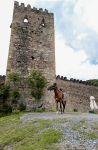 Рядом с крепостью Ананури