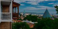 Тбилиси. Вид на город