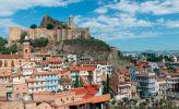 Тбилиси. Крепость Нарикала и район серных бань