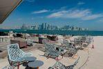 Доха. Вид на район небоскребов