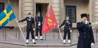 Стокгольм. Развод караула у королевского дворца