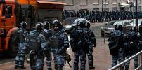 Москва. Против шествия в защиту Навального